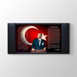 İstiklal Marşı - Gençliğe Hitabe Duvar Panosu