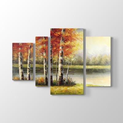 Ağaçlar ve Göl Tablosu