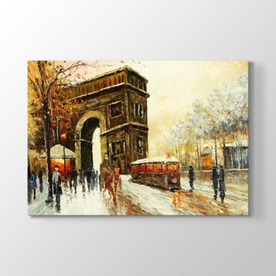 Paris Manzara Tablosu