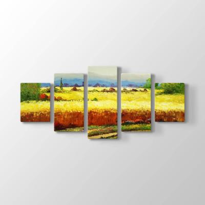 Buğday Tarlası Tablosu