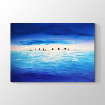 Turkuaz - Mavi Tablosu