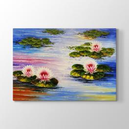 Lotus Çiçek Tablosu