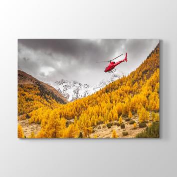 Kırmızı Helikopter Tablosu
