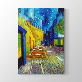 Vincent van Gogh - Cafe Terrace at Night Tablosu