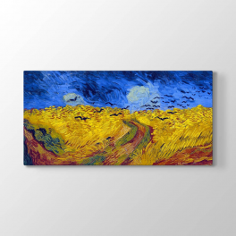 Vincent van Gogh - Wheat Field Tablosu
