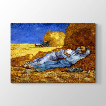 Vincent van Gogh - The Siesta Tablosu