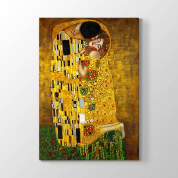 Gustav Klimt - Öpücük Tablosu