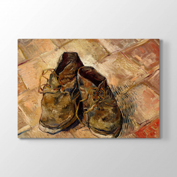 Vincent van Gogh - Shoes Tablosu