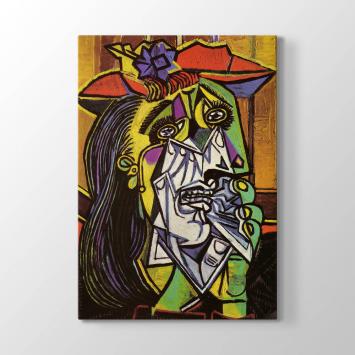 Pablo Picasso - Ağlayan Kadın Tablosu