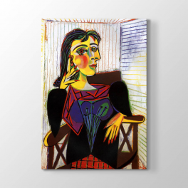 Pablo Picasso - Dora Maar Portre Tablosu
