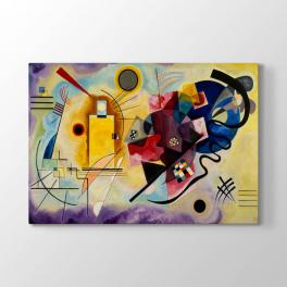 Wassily Kandinsky - Sarı Kırmızı Mavi Tablosu