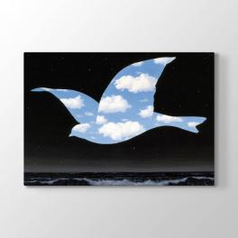 Rene Magritte - Kuş Tablosu