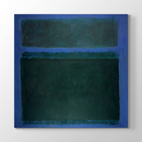 Mark Rothko - Lacivert Tablosu