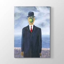 Rene Magritte - The Son of Man Tablosu