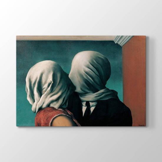 Rene Magritte - Aşıklar Tablosu