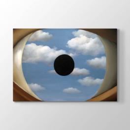 Rene Magritte - Yanlış Ayna Tablosu