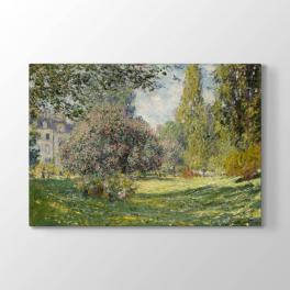 Claude Monet - Parc Monceau Tablosu