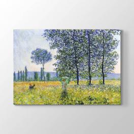 Claude Monet - Kavaklar Altında Güneş Tablosu