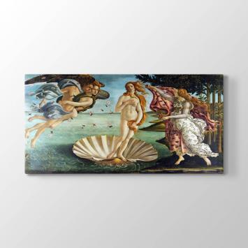 Sandro Boticelli - Venüsün Doğuşu Tablosu