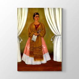 Frida Kahlo - Perdeler Arası Tablosu