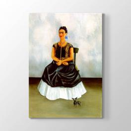 Frida Kahlo - Köpeğim ve Ben Tablosu