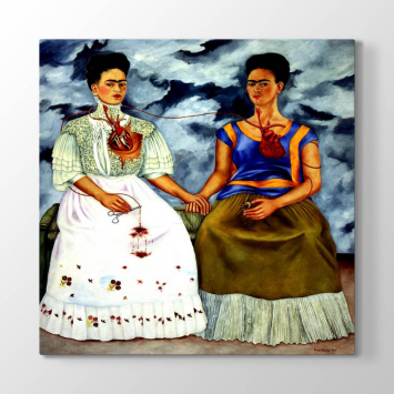 Frida Kahlo - The Two Fridas Tablosu