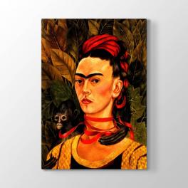 Frida Kahlo - Ben ve Maymun Tablosu