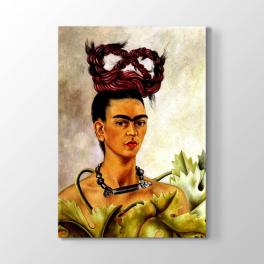 Frida Kahlo - Saç Örgü Tablosu