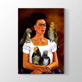 Frida Kahlo - Papağanlar Tablosu