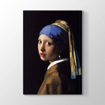 Johannes Vermeer - İnci Küpeli Kız Tablosu
