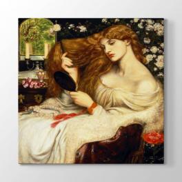 Dante Gabriel Rossetti - Bayan Tablosu