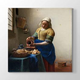 Johannes Vermeer - Sütçü Kız Tablosu