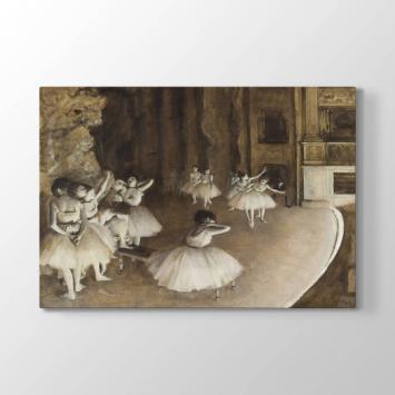 Edgar Degas - Balerinler Tablosu
