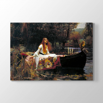 John William Waterhouse - Shalott Tablosu