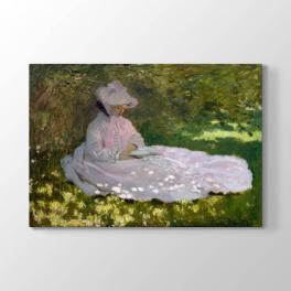 Claude Monet - Bahar Tablosu