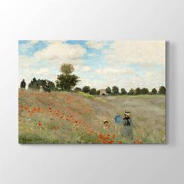 Claude Monet - Gelincik Tablosu