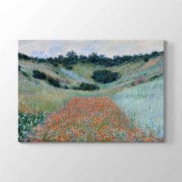 Claude Monet - Gelincik Tarlası Tablosu