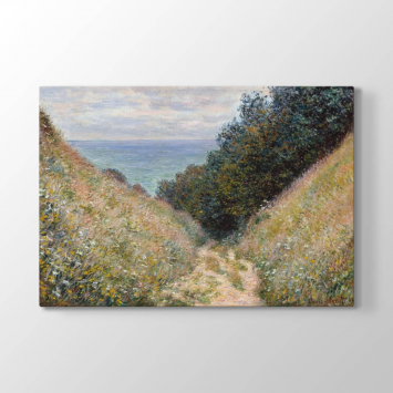 Claude Monet - At Yolu Tablosu