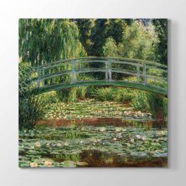 Claude Monet - Japon Köprüsü Tablosu