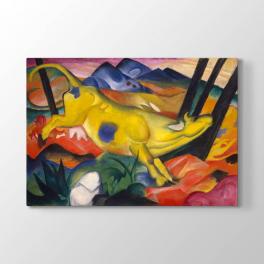 Franz Marc - Sarı İnek Tablosu