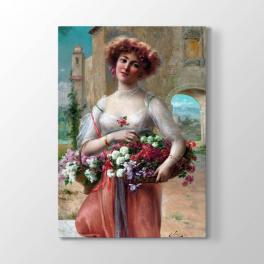Emile Vernon - Güzel Kadın Tablosu