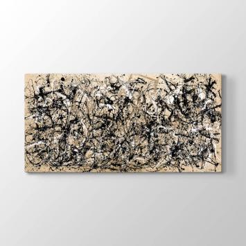 Jackson Pollock - Sonbahar Ritmi Tablosu