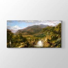 Frederic Edwin Church - And Dağları Tablosu