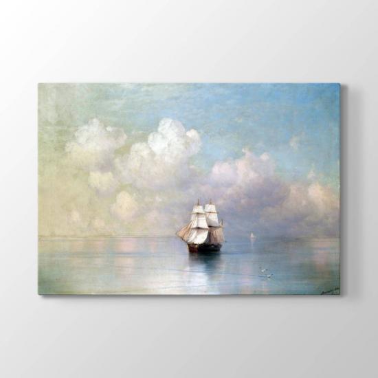İvan Ayvazovski Gemi Tablosu