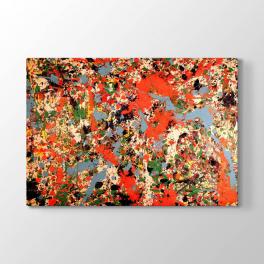 Jackson Pollock Soyut Tablosu