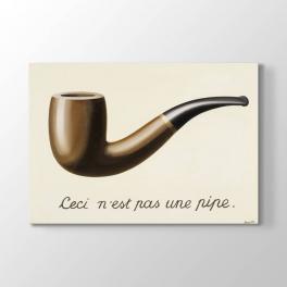 Rene Magritte - Pipo Tablosu