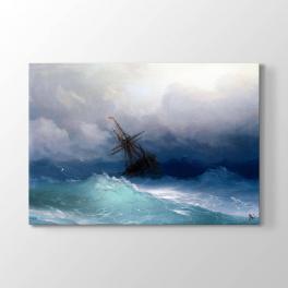 İvan Ayvazovski Deniz Tablosu
