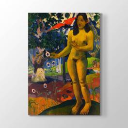 Paul Gauguin - Çıplak Kadın Tablosu