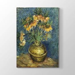 Vincent van Gogh - Bakır Vazo Tablosu