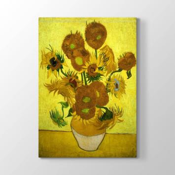 Vincent van Gogh - Ayçiçekleri Tablosu
